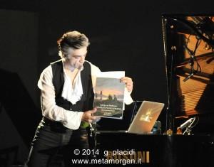 """Morgan a @La Milanesiana 2014, canzone sulla sonata di Beethoven """"Patetica"""""""