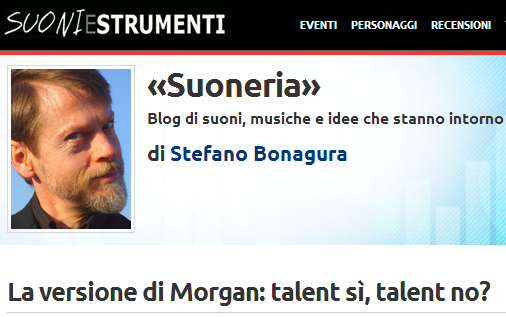 "Morgan e i talent - Bonagura su ""Sound and vision"""